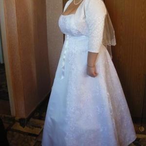 Продам белое свадебное платье а-ля