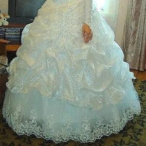 Продам недорого красивое свадебное платье
