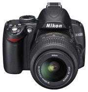 Продам фотоаппарат Nikon D3000 kit 18-55 VR NIKKOR